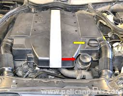 mercedes benz w203 oil change 2001 2007 c230 c280 c350 c240