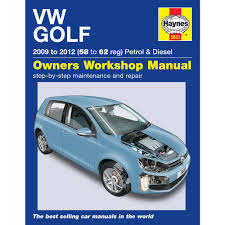 haynes manual vw golf mk6 1 4 petrol 1 6 2 0 diesel 58 to 62 reg