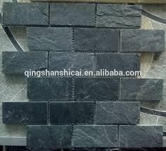 Quartzite Slate Subway Backsplash Tile by Slate Subway Tile Home U2013 Tiles