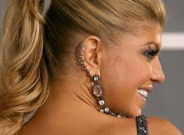 fergie earrings eye brow piercing ideas and information guide piercebody