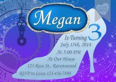 border 40th birthday party invitation templates shown here in teal