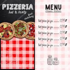 template for restaurant menu u2014 stock vector aqua 106360834