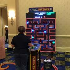 Pacman Game Table by Arcade Game Table Rentals Md Dc Va Table Game Rentals Md Dc Va