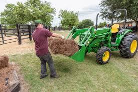 john deere reveals 4 family compact utility tractors
