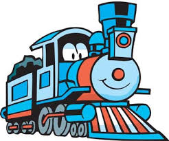 thomas tank engine clipart blue train pencil color