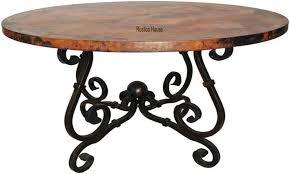 Copper Dining Room Tables Made Copper Dining Table Custom Copper