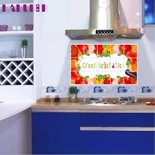 1pc 75cm 45cm kitchen oilproof removable wall stickers art decor