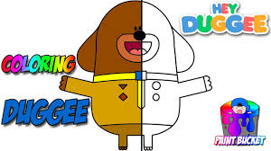 hey duggee coloring pages cbeebies nick jr coloring book