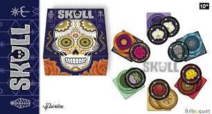 Lui Meme - skull silver jeu de bluff lui même editions lui même editions