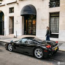 ferrari enzo black ferrari enzo looks like a million bucks is worth a lot more