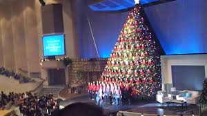 singing christmas tree broadway church vancouver 2 youtube