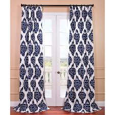 curtains ikat blue curtains designs blue and white ikat uk