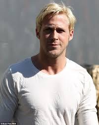 blonde male celebrities more men bleaching hair than ever thanks to stars like ryan