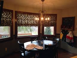Dining Room Desk by Window Treatments For Dining Room Ideas Homesfeed