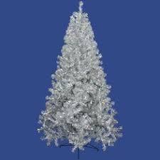 4 silver pre lit clear artificial tree 1157761 119 00
