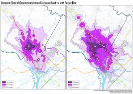 Dc Metro Red Line Map by Purple Line Could Mean Big Changes For Commutes Property Values