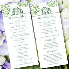 Printable Wedding Program The 25 Best Wedding Program Templates Ideas On Pinterest Diy