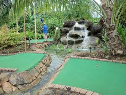 Backyard Golf Hole by Tricky Hole Where You Have To Jump The Ravine Picture Of Kauai