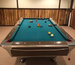 what are pool tables made of what years were fischer empire vii pool tables made