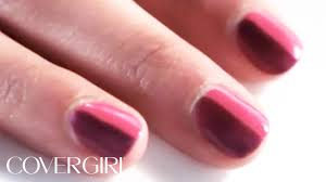 nail art step by step two color nails flip fantastic look