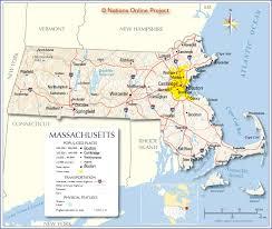 Connecticut Map Usa by Massachusetts State Maps Usa Maps Of Massachusetts Ma Filemap Of