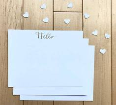 custom notecards i you stationary set custom notecards calligraphy