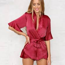 Red Jumpsuits For Ladies Discount Red Jumpsuits For Sale 2017 Red Jumpsuits For Sale On