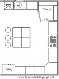 Island Shaped Kitchen Layout 10x10 U Shaped Kitchen Layout Corner Pantry Search