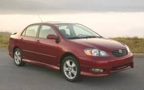 toyota corolla sedan price toyota corolla 2006