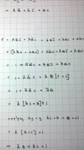 abc writing paper logic gates simplify a b c a b c a bc a bc abc into minimal simplify a b c a b c a bc a bc abc into minimal 1st canonical form