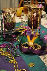 mardi gras table decorations mardi gras fiddle by jones