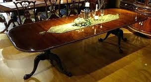 dining table chippendale style mahogany dining table room set