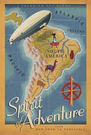 A Map Of South America 308 Best Mapear Images On Pinterest Map Illustrations South