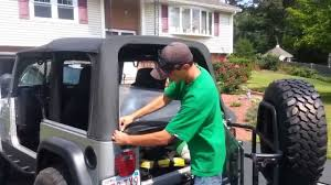 how to take doors a jeep wrangler how to remove the doors and top of a jeep wrangler