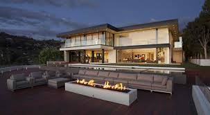 enthralling exterior and interior schemes of sunset strip in