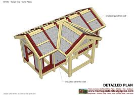 free big dog house plans and designs homes zone