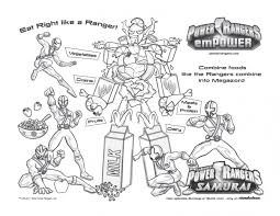 power rangers coloring pages print archives coloring