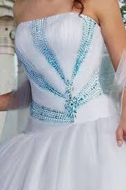 teal wedding dresses white and teal wedding dress naf dresses