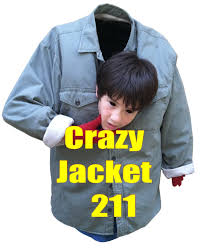 blazer halloween costume crazy jacket 211 using the crazy jacket making it the best