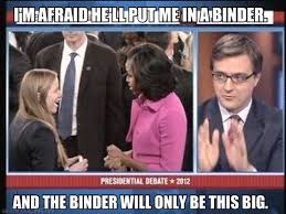 Binders Full Of Women Meme - binders full of women the midlife second wife
