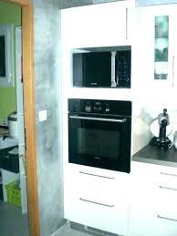 cuisine micro ondes meuble micro onde meuble four et micro onde cuisine micro on cuisine