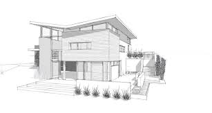 simple architecture house design sketch wonderful painting office
