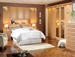 bedroom classic bedroom ideas with white bed and light brown and