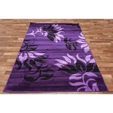 Purple And Black Area Rugs Excellent Black And Purple Area Rugs Ideas Within Popular