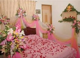 First Nite Room Decorations Beautiful Bedroom Flower Decoration Images Dallasgainfo Com