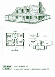 log cabin house plans with porches
