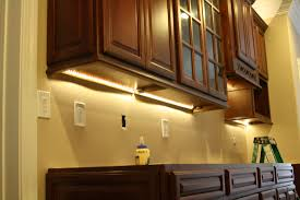 under cabinet led lighting puts the spotlight on the kitchen