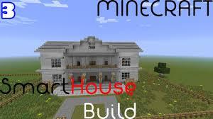 smart house super build episode 3 minecraft redstone tutorial