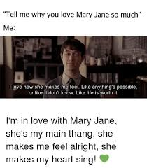 Mary Jane Memes - 25 best memes about in love with mary jane in love with mary