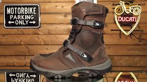 brown motocross boots forma adventure low boots